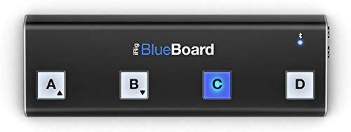 IK Multimedia iRig BlueBoard Bluetooth MIDI Pedalboard Kontroller für Apple iPhone/iPod/iPad und Mac