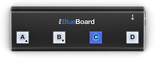IK Multimedia iRig BlueBoard Bluetooth MIDI Pedalboard Kontroller für Apple iPhone/iPod/iPad und Mac