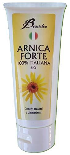 Braveter Gel Arnica Montana Forte Per Cavalli Uso Umano Pura 100% Italiana BIO Antinfiammatoria Crema Pomata Effetto Termico Efficace Traumi Sportivi