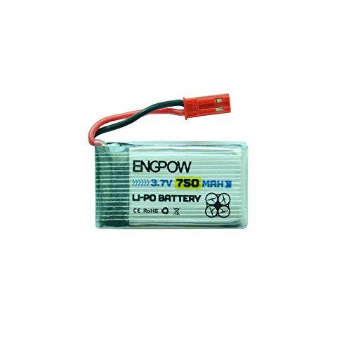 Fdrone 1 Pcs 3.7V 750mAh Lipo Battery Compatible with MJX X200 X300C X400 X500 X800 RC Quadcopter New