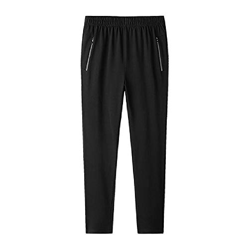 N\P Pantalones deportivos casuales de color puro para hombre más tamaño pantalones de deporte pantalones de los hombres pantalones de correr