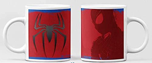 Clapper Taza Spiderman. Taza de Cafe superheroe