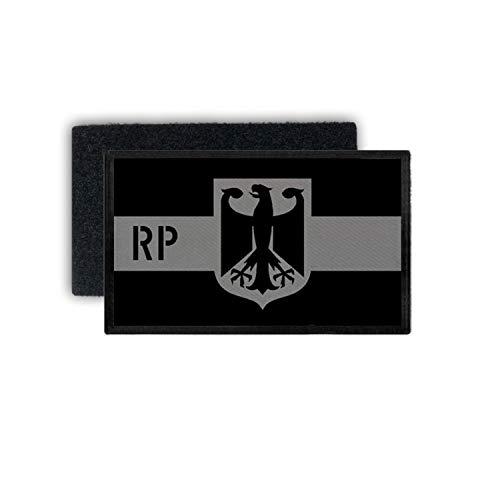 Copytec Patch Bundesland Rheinland Pfalz Einheit Dienstkleidung Polizei 7,5x4,5cm #31203