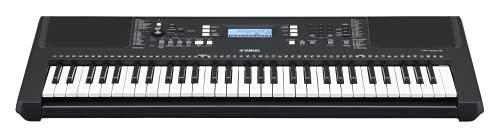 Yamaha PSR-E373 RML Digital Keyboard - Beginner Keyboard with 61 Touch-Sensitive Keys, Voucher for a...