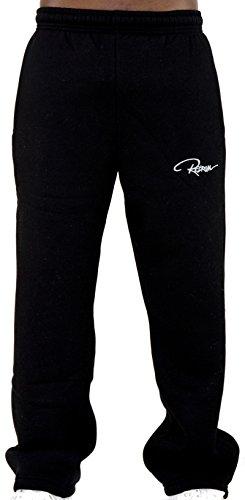 REDRUM Jogginghose Sweatpants Sport Fitness Casual Modell Pant Plain in | SCHWARZ | ANTHRAZIT | GRAU | bis Größe 7XL (6XL, Schwarz)