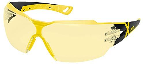 Uvex Pheos CX2 Retail Schutzbrille - Suprav. Excellence - Gelb/Schwarz-Gelb