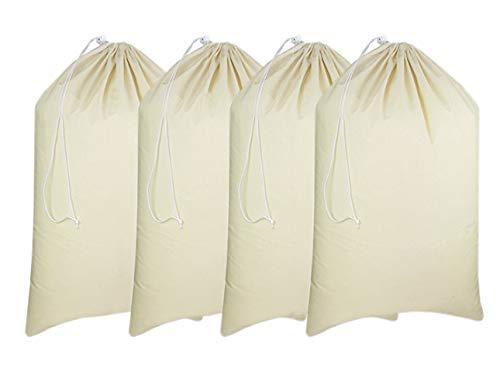 Extra Large Canvas Laundry Bag Set