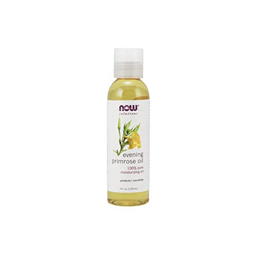 NOW Solutions, Evening Primrose Oil, 100% Pure Moisturizing Oil, with Essential Fatty Acids 4-Ounce