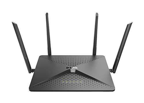 D-Link DIR-882 AC2600 Exo SmartBeam Gigabit Router (kombinierte WLAN-Bandbreite von bis 2533 Mbit/s)