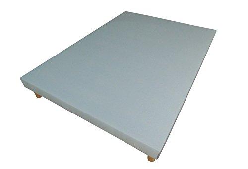 Hévéa Sélection Sommier tapissier volige déco 160 x 200 Gris