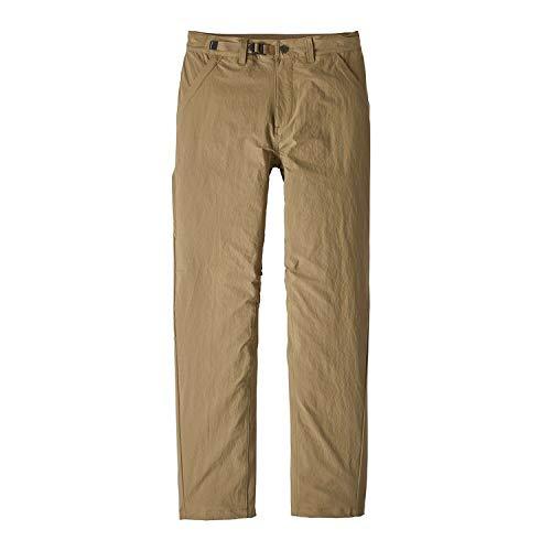 Patagonia M's stonycroft Pantalon Court Homme XL Multicolore - Kaki (Mojave Khaki)