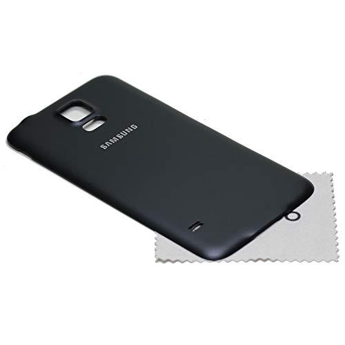 Mungoo - Tapa trasera para Samsung Galaxy S5 neo G903F, color negro, con paño de limpieza de pantalla