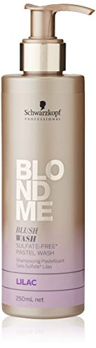 SK BlondMe Blush Wash Lila 250ml