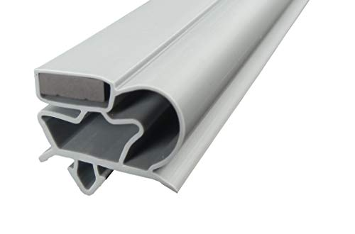 Guarnizione per porta frigorifero 'groß C' 2500mm compresi magnetica colore: grigio