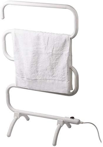 KAUTO Calentador de Toallas de pie, Calentador de Toallas eléctrico Calentamiento Inteligente de Temperatura Constante Adecuado para Hotel/salón de Belleza Secador de Toallas de baño, Blanco