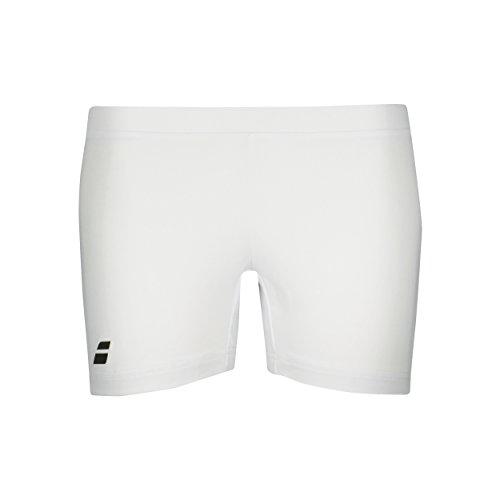 Babolat Damen, Core Ballshort Weiß, Schwarz, XL Oberbekleidung