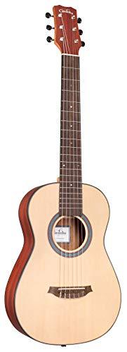 cordoba acoustic guitar strings Cordoba Mini II Padauk Small Body Traditional Nylon String Guitar, Natural