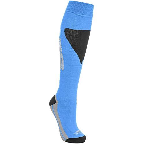 Trespass Herren Hack Ski-Socken (41-45 EUR) (Leuchtblau)