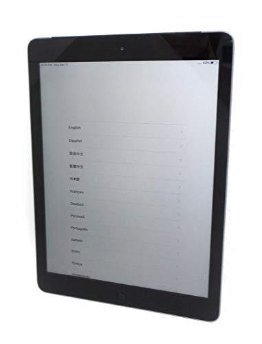 Apple iPad Air MD785LL/B 9.7-Inch 16GB Wi-Fi Tablet (Black with Space Gray) (Renewed)
