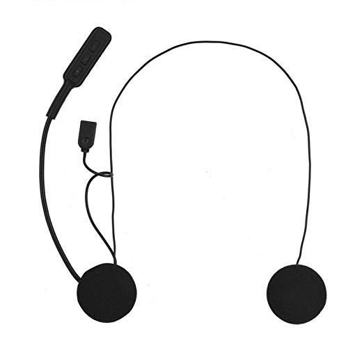 BOTEGRA Auriculares, Control De Sonido Sistema De Audio Universal para Casco 4.0 +...