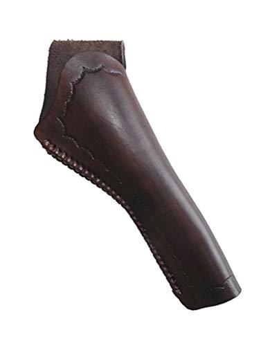 Westernholster Holster Holstertasche Oldstyle rechts oder Links braun für Navy Colt, Armee Colt Echtleder Oldstyle Handarbeit (Rechtshänder)