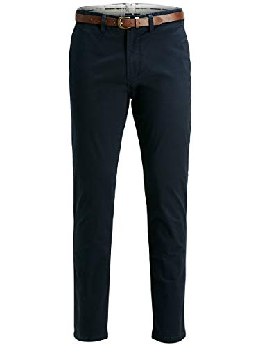 JACK & JONES Herren Chino Cody Spencer WW 3230Navy Blazer