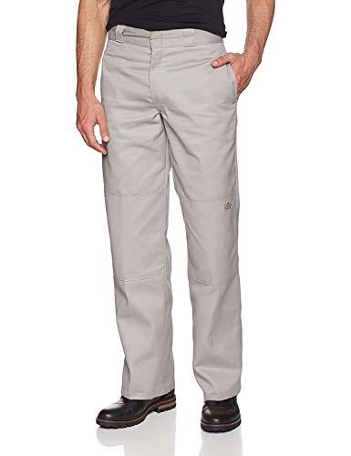 Dickies Herren Sporthose Streetwear Male Pants Double-Knee Work grau (Silver Grey) 34/34