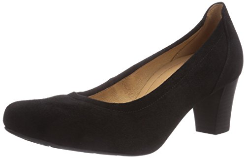 Gabor Shoes Damen Comfort Fashion Pumps, Schwarz (schwarz 47), 40 EU