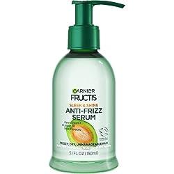 top rated Garnier Fructis Smooth and shiny anti-friz serum, frizzy, dry, awkward hair, 5.1fl. Oz. 2021