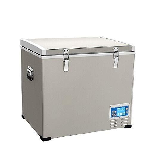 Nevera portátil eléctrica, nevera coche SKC 45 litros portátil de pantalla digital del compresor frigorífico congelador, 12V / 24V / 220V