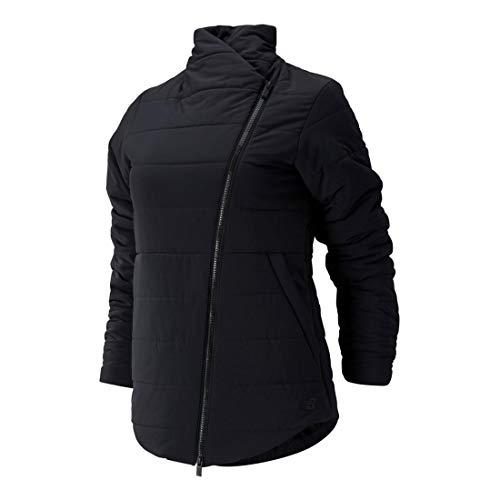 New Balance Determination NB Heat Flex Asymmetrical Jacket Black LG