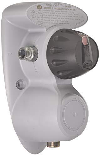 Comap S651100 Inverseur Butaan (1e en 2e ontspanning) drukregelaar met geïntegreerde magiscoop, 28 MB-2,6 kg/h, korte montage, grijs