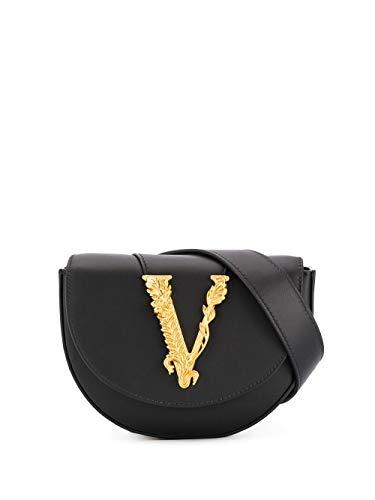 Luxury Fashion | Versace Dames DV3G984D5VITK41OT Zwart Leer Heuptas | Lente-zomer 20