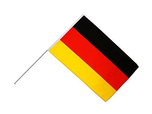 Flaggenfritze Große Stockflagge/Stockfahne Deutschland + gratis Sticker