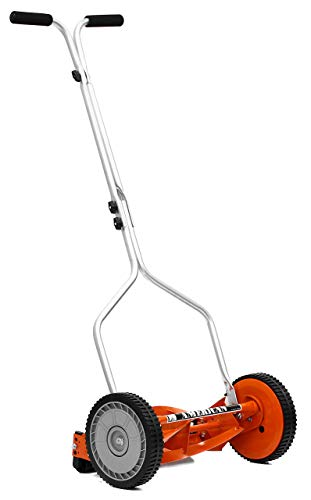 American Lawn Mower 1204-14 14-Inch 4-Blade Push Reel Lawn Mower (Renewed)