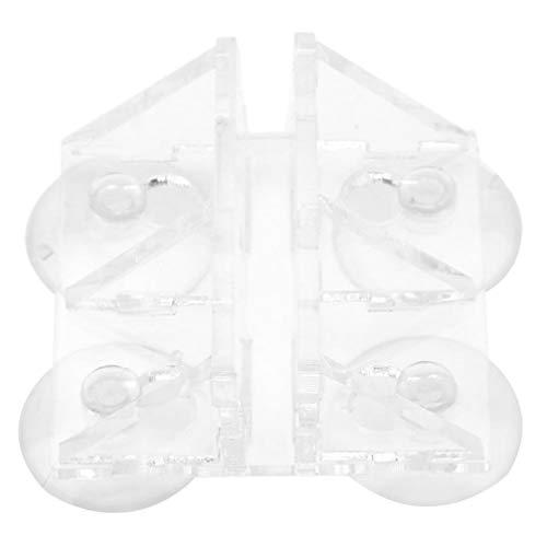 POPETPOP Aquarienplatte Klammer Acryl Transparent Aquarium Aquarium Aquarium Saug Segregation Board Clip