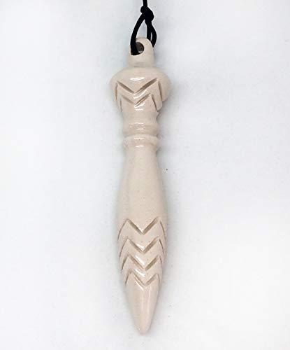 Pendule de Thoth en céramique, entièrement fait main, couleu