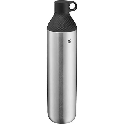 WMF Waterkant Iso2Go Trinkflasche Edelstahl 750ml, Teeflasche, Thermosflasche, Isolierflasche, Kohlensäure geeignet, Drehverschluss, auslaufsicher