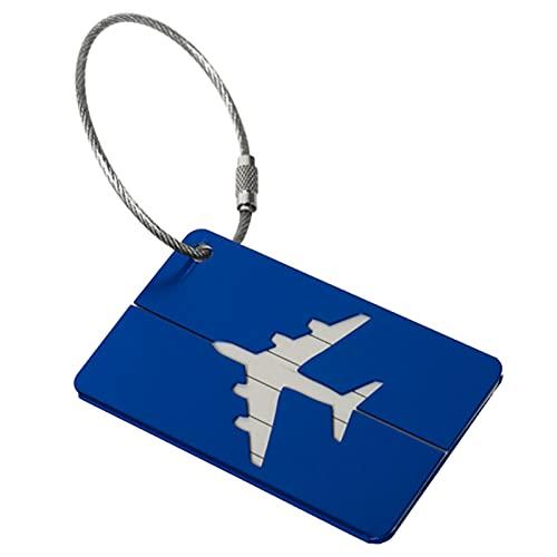 A/A LI Q P R etiquetas de equipaje con etiqueta de nombre para equipaje bolso maleta etiqueta