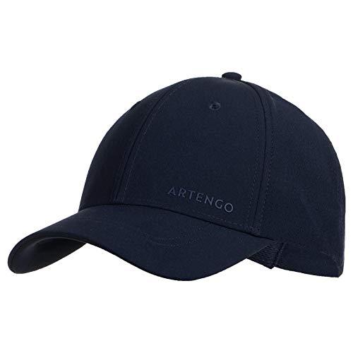 Artengo Tennis Cap Tc 900 S58 - Schwarz/Grau Asphalt Blau Einzigartige Größe