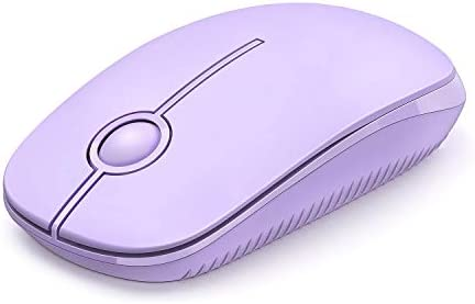 Jelly Comb 2 4G Slim Wireless Mouse with Nano Receiver Less Noise Portable Mobile Optical Mice product image