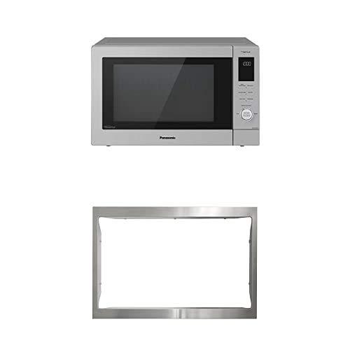 Panasonic Home Chef NN-CD87KS 4-in-1 Microwave Multi-Oven & Microwave Trim Kit NN-TK81KCS (Silver)