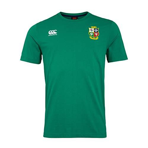 Canterbury Herren British and Irish Lions Cotton Jersey T-Shirt, Bosporus, S