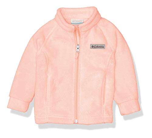 Columbia Baby Little Girls' Benton Springs Fleece Jacket, Buttercup, X-Small