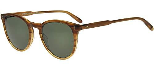 Garrett Leight Occhiali da Sole MILWOOD SUN Matte Blonde Tortoise Shaded/Pg 46/22/140 unisex