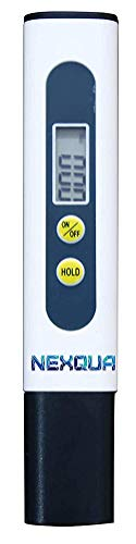 Nexqua Dew Digital LCD Display Portable TDS Meter, Water Quality Tester, 0~9990ppm Measurement Range for Drinking Water, Aquariums,Pool, hydroponics etc (TDS Meter)