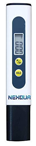 Nexqua Dew Digital LCD Display Portable TDS Meter, Water Quality Tester, 0~9990ppm Measurement Range for Drinking Water, Aquariums,Pool, hydroponics etc (TDS Meter)