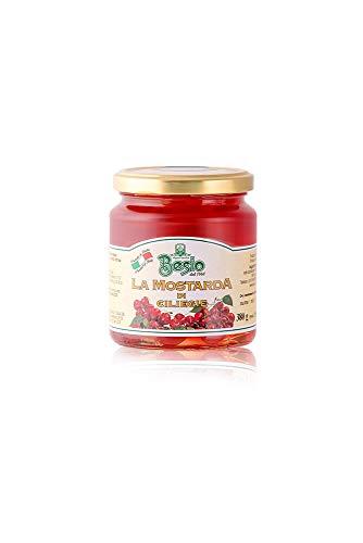 Besio Mostarda di Ciliegie Tipo Cremonese - 380 gr