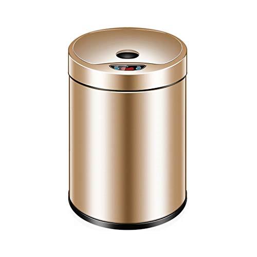 Bote de basura Inducción automática Smart Home Cubierta eléctrica Baño Sala de...
