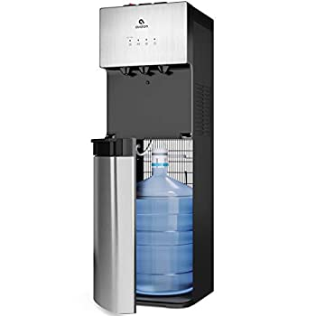 Avalon Limited Edition Self Cleaning Water Cooler Dispenser 3 Temperature Settings - Hot Cold & Cool Water Durable Stainless Steel Construction Bottom Loading - UL/Energy Star Approved